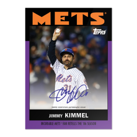"""On-Card Auto # to 25 - Jimmy Kimmel - """"Once Upon a Time in Queens"""""""