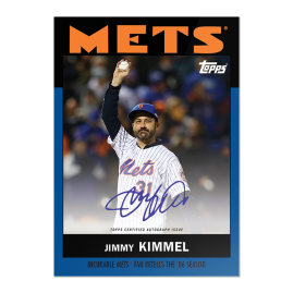 """On-Card Auto # to 49 - Jimmy Kimmel - """"Once Upon a Time in Queens"""""""