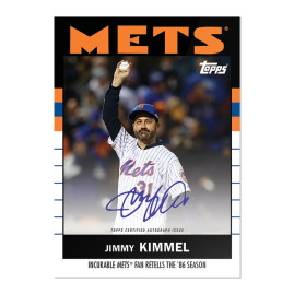"""On-Card Auto # to 86 - Jimmy Kimmel - """"Once Upon a Time in Queens"""""""