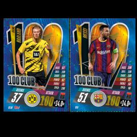 UEFA Champions League 2020/21 100Club Cards