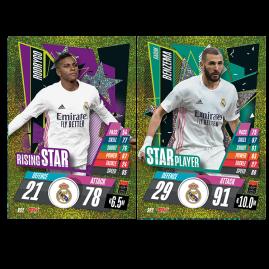 UEFA Champions League 2020/21 Holo Foil 2 Cards