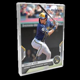 2021 Milwaukee Brewers TOPPS NOW® Postseason 10-Card Team Set