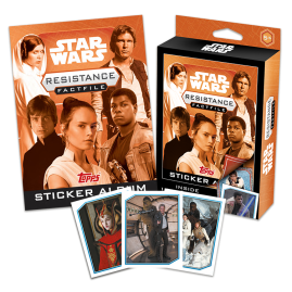 Star Wars Fact File Box - The Resistance