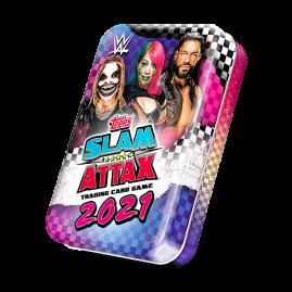 WWE Slam Attax 2021 - Collector Tin Blue & Pink