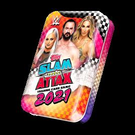 WWE Slam Attax 2021 - Collector Tin Pink & Orange