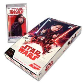 Star Wars: The Last Jedi Series 2 Hobby Box 24 x 8 card packets