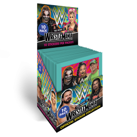WWE Stickers 2021 - The Road to Wrestlemania - Full box