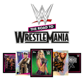 WWE Stickers 2021 - The Road to Wrestlemania - Starter Pack