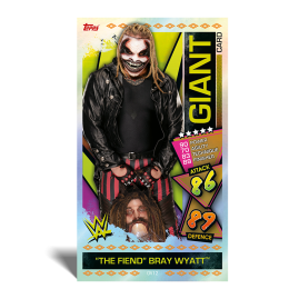 WWE Slam Attax 2021 - Web Wednesday Multipack Bundle + The Fiend Giant card