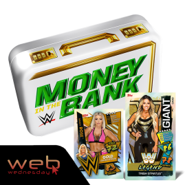 WWE Slam Attax 2021 - Web Wednesday deal with Mandy Rose Limited Edition & Trish Stratus Giant Card!