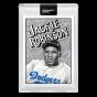 Topps PROJECT 2020 Card 79 -  1952 Jackie Robinson by Mister Cartoon - Print Run: 11643