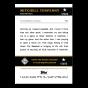 2021 Topps x Nashville Stars - Mitchell Tenpenny - On-Card Auto # to 10