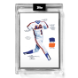 """2021 Topps x ESPN 30for30 - """"Once Upon a Time in Queens"""" - Card #1 - The Uniform by Joey Paints - Artist Proof # to 86"""