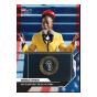 Amanda Gorman - 2020 USA Election Topps NOW® Card 20 - Print Run: 14716