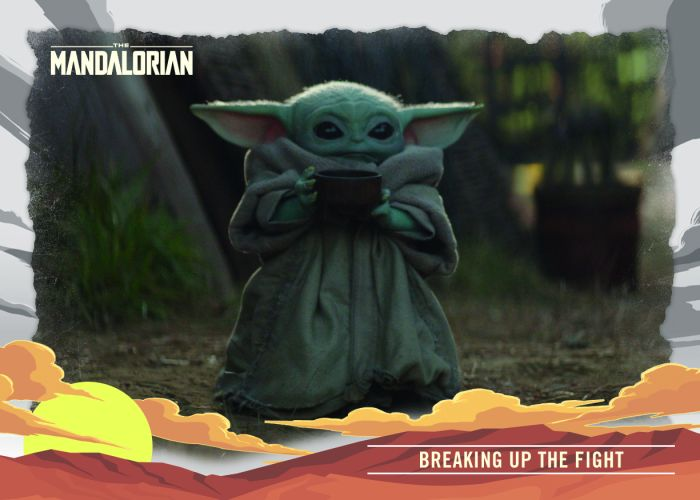 Topps Star Wars Mandalorian Journey of the Child Trading Card Set