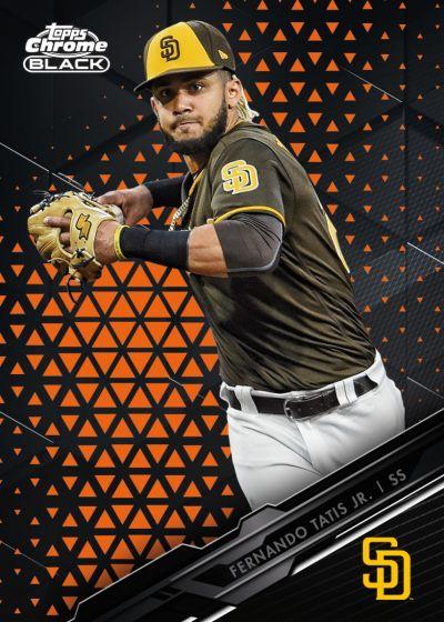 2020 Topps Baseball - Chrome Black Edition