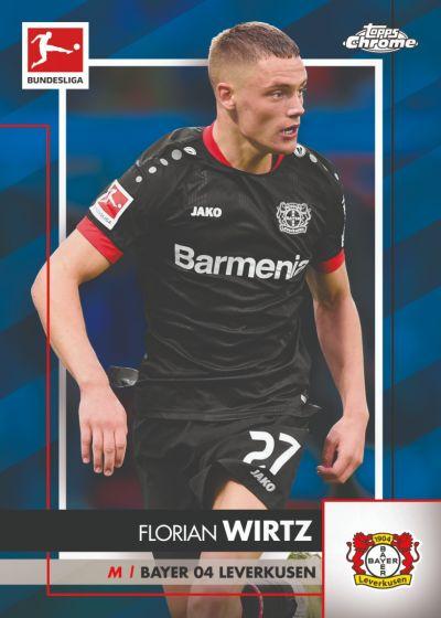 2020/21 Topps® Bundesliga Chrome Sapphire