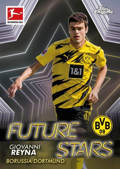 2020/21 Topps® Bundesliga Chrome - UK