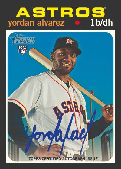 2020 Topps Heritage Baseball - Hobby Box