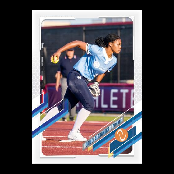 2021 Topps On-Demand Set #8 - 2021 Athletes Unlimited Softball