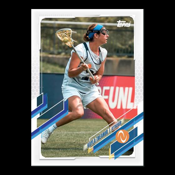 2021 Topps On-Demand Set #5 - 2021 Athletes Unlimited Lacrosse - PR: 1551