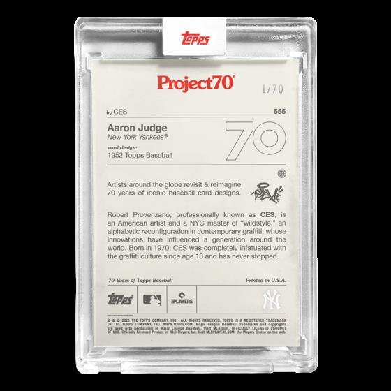 Topps Project70® Card 554 -   Hideki Matsui by Oldmanalan - PR: 716
