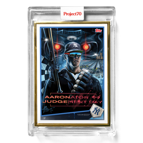 Topps Project70® Card 555 -   Aaron Judge by CES - PR: 1453