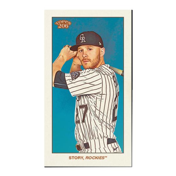 2020 Topps 206 Baseball - Series 4 - Print Run: 21350