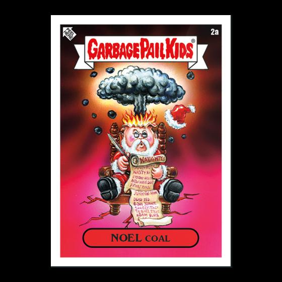 Garbage Pail Kids April Week 1 Bizarre Holidays