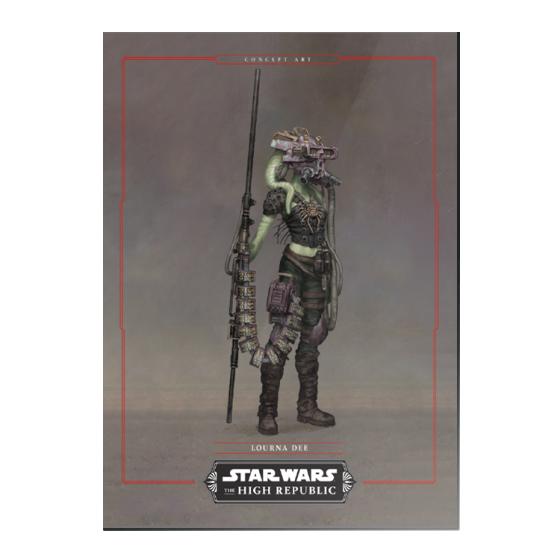 2021 Topps On-Demand Set #10 – Star Wars: The High Republic - PR: 1180