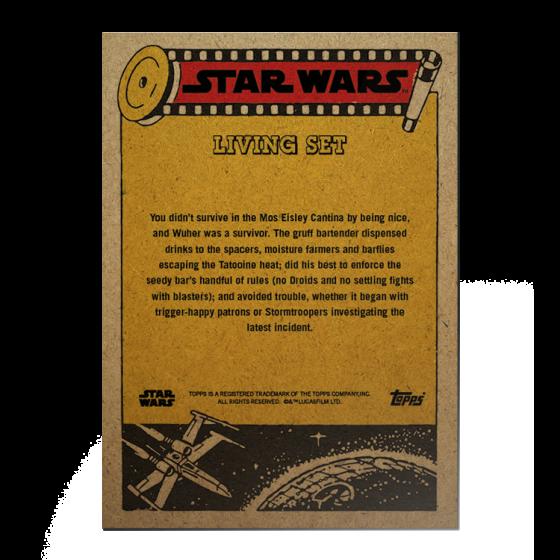 Topps Star Wars Living Set® Card #239 - Wuhur