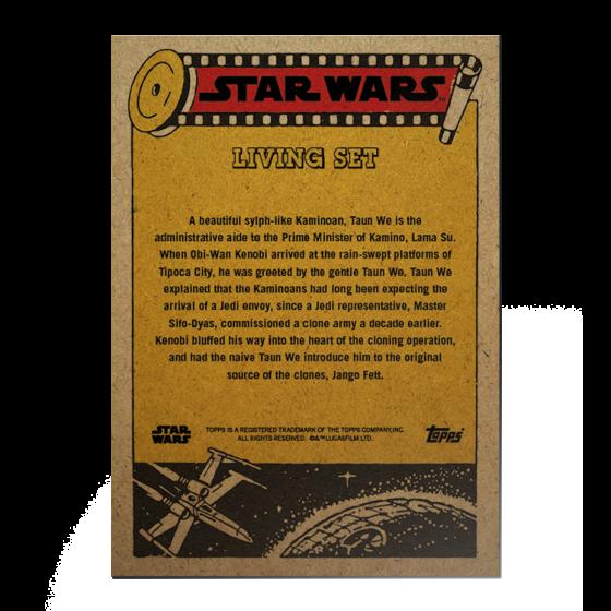 Topps Star Wars Living Set® Card #240 - Taun We