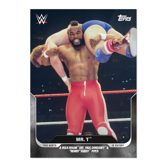 Hulk Hogan™ & Mr. T™ – 3/31/1985, WrestleMania - This Moment ...