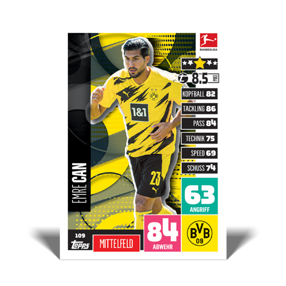 Bundesliga Match Attax 20-21 - Sammeldose 1