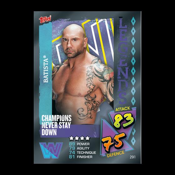 WWE Slam Attax 2021 - Collector Pack (Pink & Orange Tin)