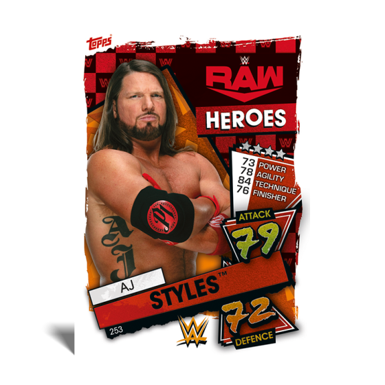 WWE Slam Attax 2021 - Starter Pack