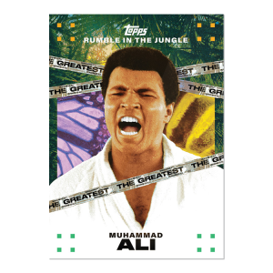 2021 Topps MUHAMMAD ALI - The People's Champ  2-Card Bundle - Cards #79-80 PLUS Tyson Beck Card #7