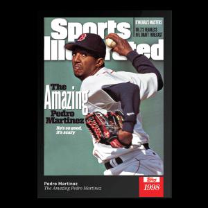2021 Topps x Sports Illustrated - Pedro Martinez - Card #27