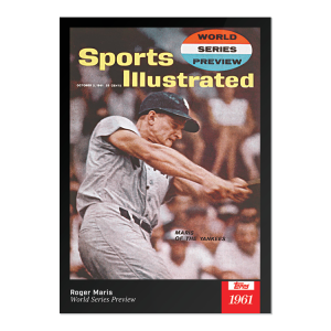 2021 Topps x Sports Illustrated - Roger Maris - Card #55