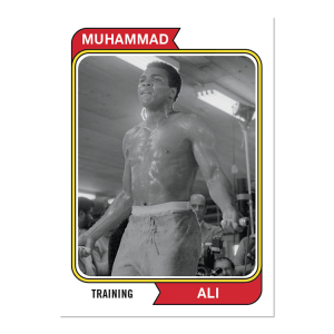 2021 Topps MUHAMMAD ALI - The People's Champ  2-Card Bundle - Cards #41-42