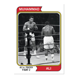 2021 Topps MUHAMMAD ALI - The People's Champ Card #43