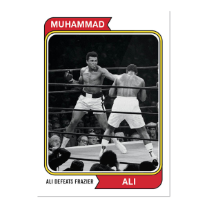 2021 Topps MUHAMMAD ALI - The People's Champ Card #44