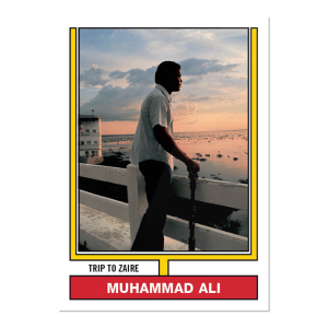 2021 Topps MUHAMMAD ALI - The People's Champ  2-Card Bundle - Cards #45-46