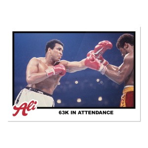 2021 Topps MUHAMMAD ALI - The People's Champ  2-Card Bundle - Cards #71-72