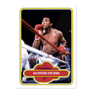 2021 Topps MUHAMMAD ALI - The People's Champ  2-Card Bundle - Cards #77-78