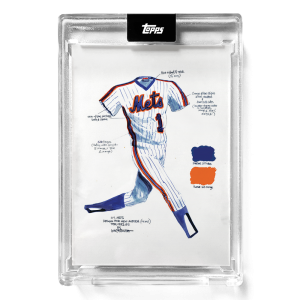 """2021 Topps x ESPN 30for30 - """"Once Upon a Time in Queens"""" - Card #1 - The Uniform by Joey Paints"""