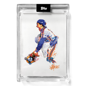 """2021 Topps x ESPN 30for30 - """"Once Upon a Time in Queens"""" - Card #4 - Jumping For Joy by Joey Paints"""