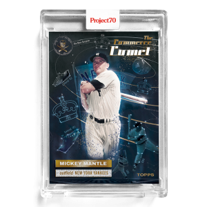 Topps Project70® Card 174 -  1956 Mickey Mantle by The Shoe Surgeon