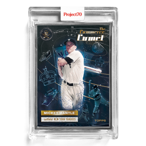 Topps Project70® Card 174 -  1956 Mickey Mantle by The Shoe Surgeon  - Artist Proof # to 51