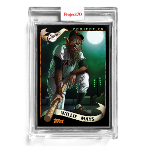 Topps Project70® Card 176 -  2002 Willie Mays by Alex Pardee  - Artist Proof # to 51